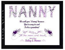 Christmas Gift NANNY NAN NANNIE NANNA personalised gift birthday XMAS present