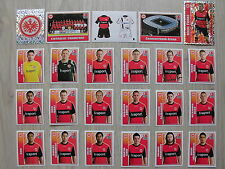 23 Panini Bilder/Sticker Eintracht Frankfurt Topps Bundesliga 2009/10