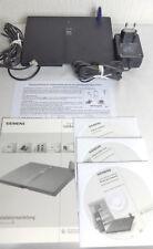 Siemens Gigaset 3075 isdn Router Telefonanlage voll funktionstüchtig AnleitungCD