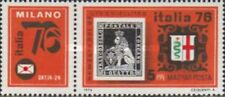 UNGHERIA 1976 The International Philatelic Exhibition SERIE 2 VAL  NUOVO ** 1073