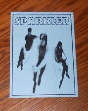 Sparkler Tour Dates Postcard Promo 6x4
