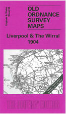OLD ORDNANCE SURVEY MAP LIVERPOOL & THE WIRRAL NEW BRIGHTON HOLYWELL 1904