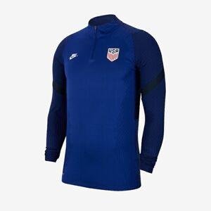 New Nike USA VaporKnit Strike Drill Soccer Top Shirt Jersey USMNT XL Royal Blue