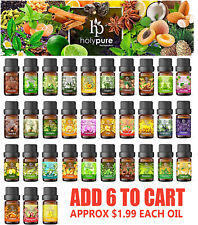 Create A Set Of 6 Essential Oils By Holypure (5ml)