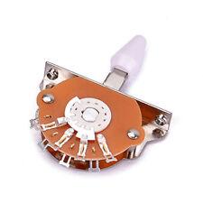 Sélecteur à levier 5 positions blanc pour les pièces de guitare électrique ST FD