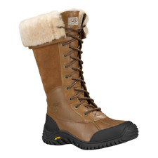 Ugg Adirondack Tall Otter Brown Winter Snow Boots Womens Size 9