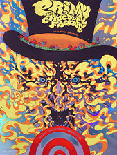 Primus Poster 15 Kansas City Mo Willy Wonka Signed & Numbered #/25 Rainbow Foil