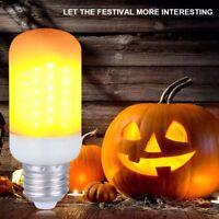 Efecto de llama LED Bombilla de luz natural simulada E27 B22 Lámpara de decor