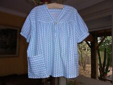 TUNIC GIRL LITTLE GIRL COTTON T10/12A VINTAGE 50/60 GIRL BLOUSE TUNIC size10/1