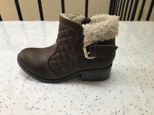 New girls Steve Madden brown boots size 13