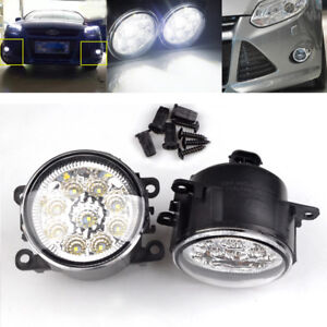 Ford Focus Transit Mk7 Mk8 2006-2018 LED Fog Light Daytime Running Lights