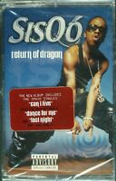 "SISQO ""RETURN OF DRAGON"" 2000 CASSETTE TAPE *SEALED* R&B *FREE SHIPPING*"