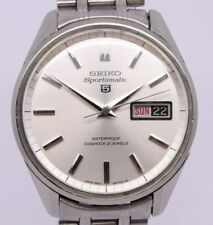 VINTAGE 1967 Seiko Sportsmatic 5 Mens 35.5mm Steel Automatic Watch 6619-8050