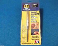 Eze Lap model S Diamond Rod Shirt Pocket Oval and Flat Knife Sharpener [Ezls]