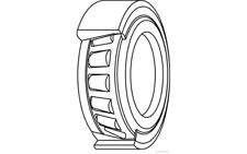 HERTH+BUSS JAKOPARTS Cojinete de rueda DAEWOO MATIZ CHEVROLET SPARK J4700907