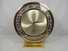 Schöne KIENZLE Art Déco Design Tischuhr desk clock Signs of the Zodiac Ouartz