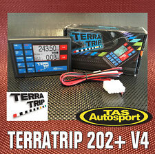 New Version 4 TERRATRIP 202+ Plus Rally Trip Computer Australian Warranty
