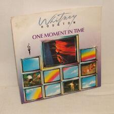 "Whitney Houston - One Moment In Time - 7"" vinyl single 1988"