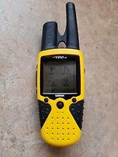 Garmin Rino 110 GPS Yellow Hand Held Portable Satellite Hiking Camping