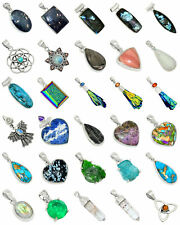 30 pcs Mixed Wholesale 925 Sterling Silver Pendants Jewelry XGP51