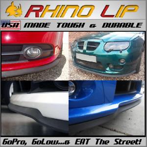 Fits Hyundai & Genesis G70 G80 G90 G100 RhinoLip® Rubber Flexible Front Chin Lip