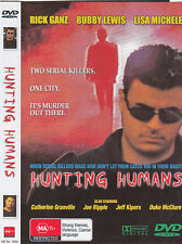 HUNTING HUMANS BRAND NEW AND SEALED DVD REGION ALL PAL SYSTEM
