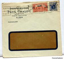 LETTRE  ALGERIE ALGER PAUL CHALOT 1936  166ca175