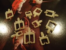Marantz 2225 Stereo Receiver Parting Out Plastic Wire Standoffs Complete Set