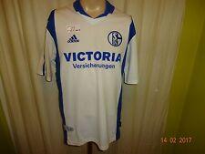 """FC Schalke 04 Adidas Auswärts Trikot 2001/02 """"Victoria Versicherungen"""" Gr.M"""