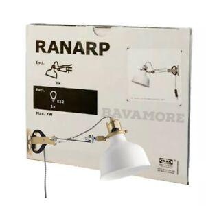 IKEA RANARP Wall/Clamp Spotlight Off-White 202.313.25 BRAND NEW-