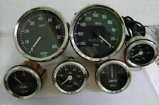Smiths-52mm-Kit-Oil Temp-Fuel-Amp-Gauge-Speedometer kmph -Tachometer-Replica