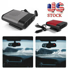 New listing 12V Portable Car Ceramic Heating Heater Fan Defroster Demister Cooling 150W Usa