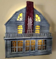 Amityville Horror House Wall Diorama