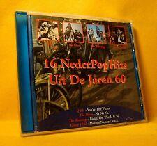 CD 16 NederPopHits Uit De Jaren '60 Compilation 16TR 1998 Pop Rock, Blues Rock
