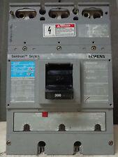 ITE Siemens JXD63B300 300 Amp Sentron Breaker JXD-63B300 600V JXD6 I-T-E 300A