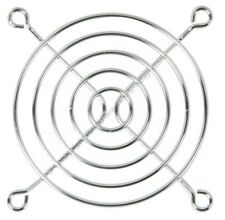 "Lot100 80mm/3""inch/8cm Metal Wire Box/Case Fan Grill/Finger Guard{SILVER/CHROME"
