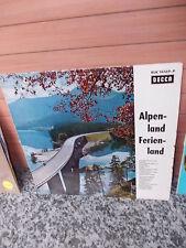 Alpenland Ferienland, eine Schallplatte