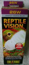 Exo Terra Reptile Vision 26 watt Energy Saving Bulb ~ **NEW**
