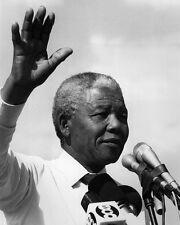 Nelson Mandela speech Black and White Art Poster Print