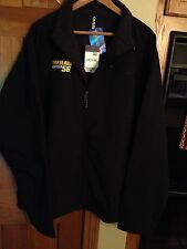 NCAA Maryland Terrapins Black Jacket Mens XXL By Ouray Sportswear NWT