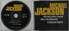 MICHAEL JACKSON Highlights From The Ultimate Collection 12-track promo CD MINT