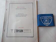 TRYGON MODEL CR110-30 INTERMEDIATE REG POWER SUPPLY INSTRUCTION MANUAL
