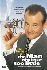 Man Who Knew Too Little Bill Murray WHEN HE WAS FUNNY IN KEEPSAKE SNAP CASE DVD