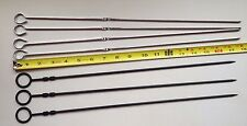 Outdoor Bbq Skewer Set (4) and other matching skewers (3) Pre-Owned