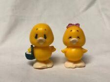 Vtg AGC Toys - Plastic Duck Pair Figures