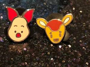 Disney TRADING PINS Piglet Deer Minis DISNEYLAND world pin