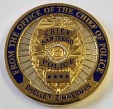 San Diego Chief of Police Shelley Zimmerman Ohio State Class of 91' Go Bucks!