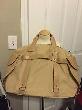 Women's Canvas Weekender Handbag Tan - Mossimo