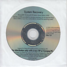 HP A600 Series System Recovery 3-CD Set