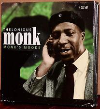 PROPER 4-CD Set PROPERBOX-101: THELONIOUS MONK - Monk's Moods - 2006 UK